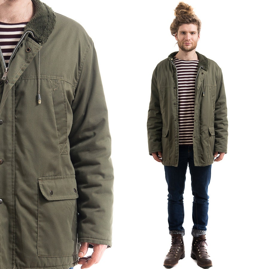 Green Parka Jacket Mens | Jackets Review
