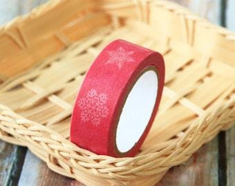 SNOWFLAKES Washi Masking Tape