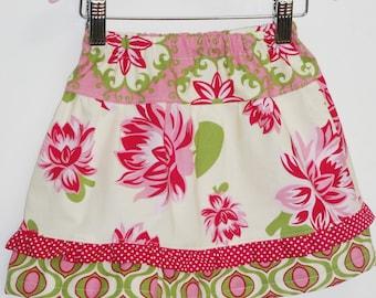 Girls Skirt Pattern, Twirl Skirt Pattern, Easy Skirt Pattern, Toddler skirt pattern -  Twirly Skirt pattern (S104) Size 1 to 5
