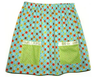 pdf childrens sewing patterns, Girls Skirt Pattern, Toddler pattern, Easy sewing pattern - Penny Pocket Skirt pattern (S101)