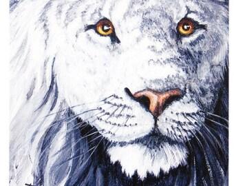 White Lion close-up