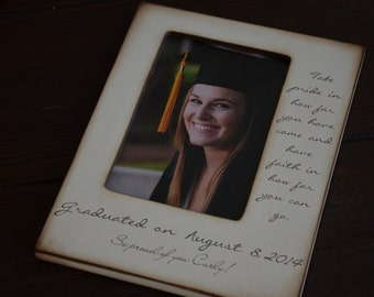 Graduation Frame- Personalized Gift for Special Graduate