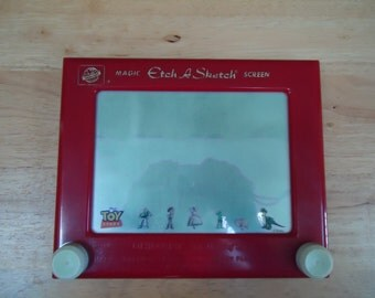 Vintage Ohio Art Toy Story No. 505 Etch a Sketch