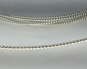 Full bead wire, bead wire, silver bead wire, Commercial supplies, jewelry making wire, choose size and amt, 925 sterling silver