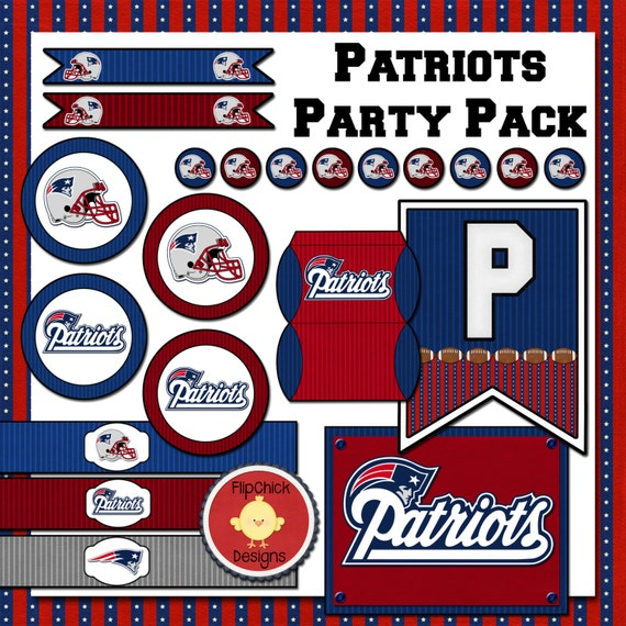 Patriots Printable Party Pack
