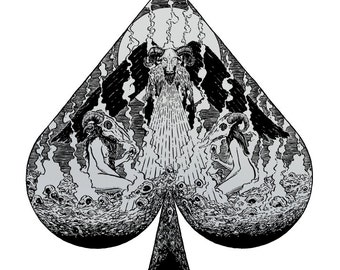 Ace of Spades limited edition screen print