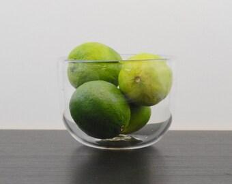 Blown Glass Bowl - Clear