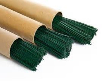 22 Gauge Floral Wire 30 Count Green Super Fast Shipping