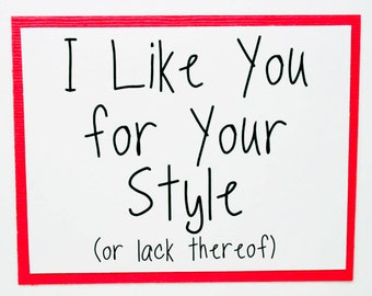 Cute Anniversary Card for Him. Funny Love You Card for Valentines Day. Valentines Day Card for Him.