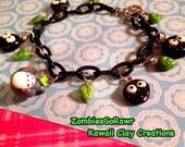 Kawaii Cute Totoror Soot Sprite Themed Charm Bracelet