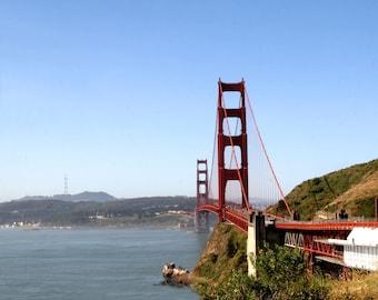 Golden gate bridge, San Francisco, Seascape Photo, San Francisco Bay