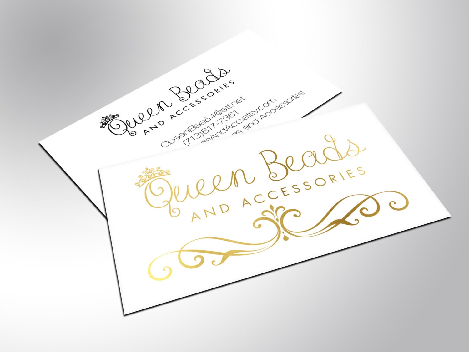 Gold Foil Business Cards Awesome Business Cards