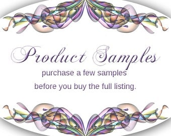 Product Samples  Jewelry Cards Custom Necklace Tags bracelet Tags Thank You Tags Samples