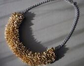 green jewelry-organic necklace