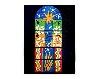 "Henri Matisse ""Nuit de Noël"" poster, c.1970. Graphic design education by Reinhold Visuals"