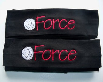 Custom Team Stretch Headbands Soccer Volleyball Softball Cotton