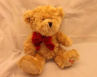 Vintage Love Ultra Soft Furry Teddy Bear