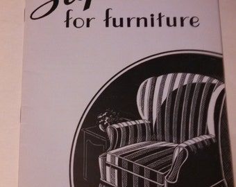 1940's Slipcovers for Furniture - U.S. Dept. of Agriculture,Farmer's Bulletin No. 1873
