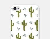 Cactus iPhone 6 Case Geometric iPhone 6 Plus Case Cactus iPhone 5c Case White iPhone 5 Case Geometric iPhone 5c Case Cactus iPhone Case