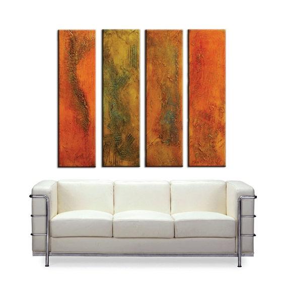 Grande peinture originale peinture abstraite grande sculpture for Peinture murale originale