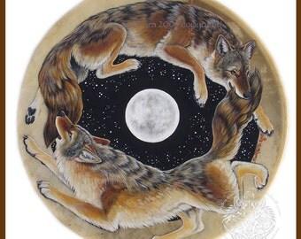 Coyote Dance Print