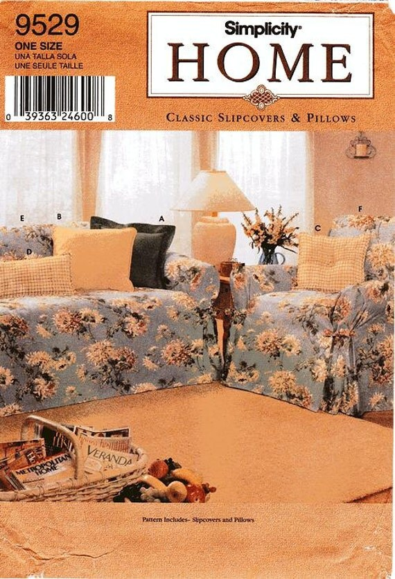 Https Www Etsy Com Listing 219194577 Simplicity Home Decor Pattern 9529
