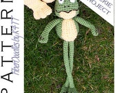 INSTANT DOWNLOAD : Springtime Friends Single (Francis the Frog) Crochet Pattern
