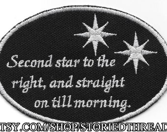 Second Star to the Right Patch