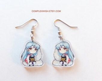 Inu-Yasha earrings - Sesshomaru