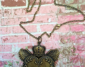 Queen For A Day Pendant  Necklace