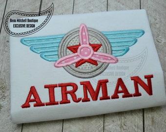 Airman applique