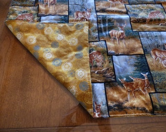Lap Quilt, Nature Panels