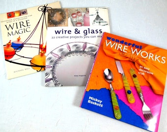 Wire Work Book Collection, Projects for Home and Person - Jewelry