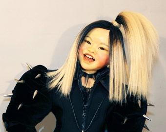 "JAPANESE Harajuku Original Artist Doll, ""HOSHI"" by Lynn Cartwright - 31"" tall"