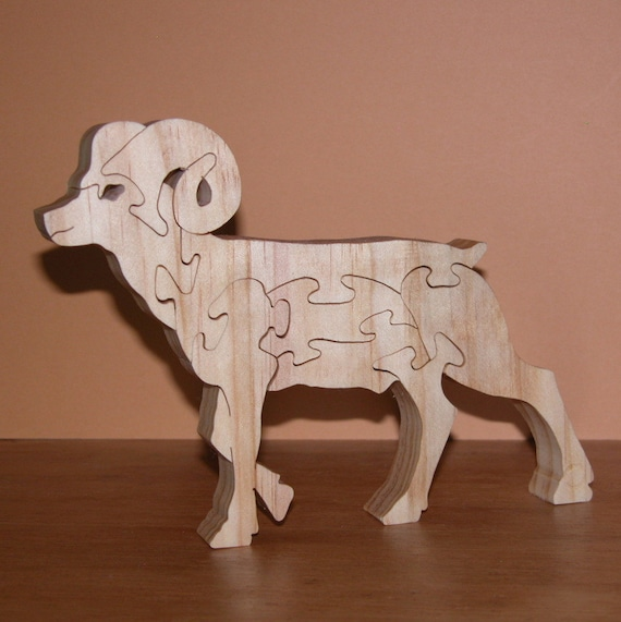 Home Decor Animal Puzzle Bighorn Sheep For Home Or Office