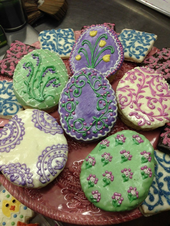 Easter egg cookies easter wikii perfect cookies for your easter celebration for filling your childs easter basket or as an easter gift think teachers or sunday school teachers negle Image collections