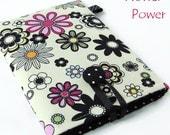 FLOWER POWER Kobo / Kindle / Nook eReader Cases. Kindle Voyage, Kindle Paperwhite, Kobo Aura, Kobo Glo. Wales, UK.