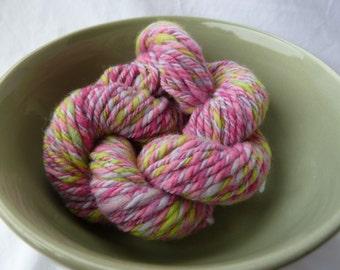 Handspun and hand dyed cormo wool