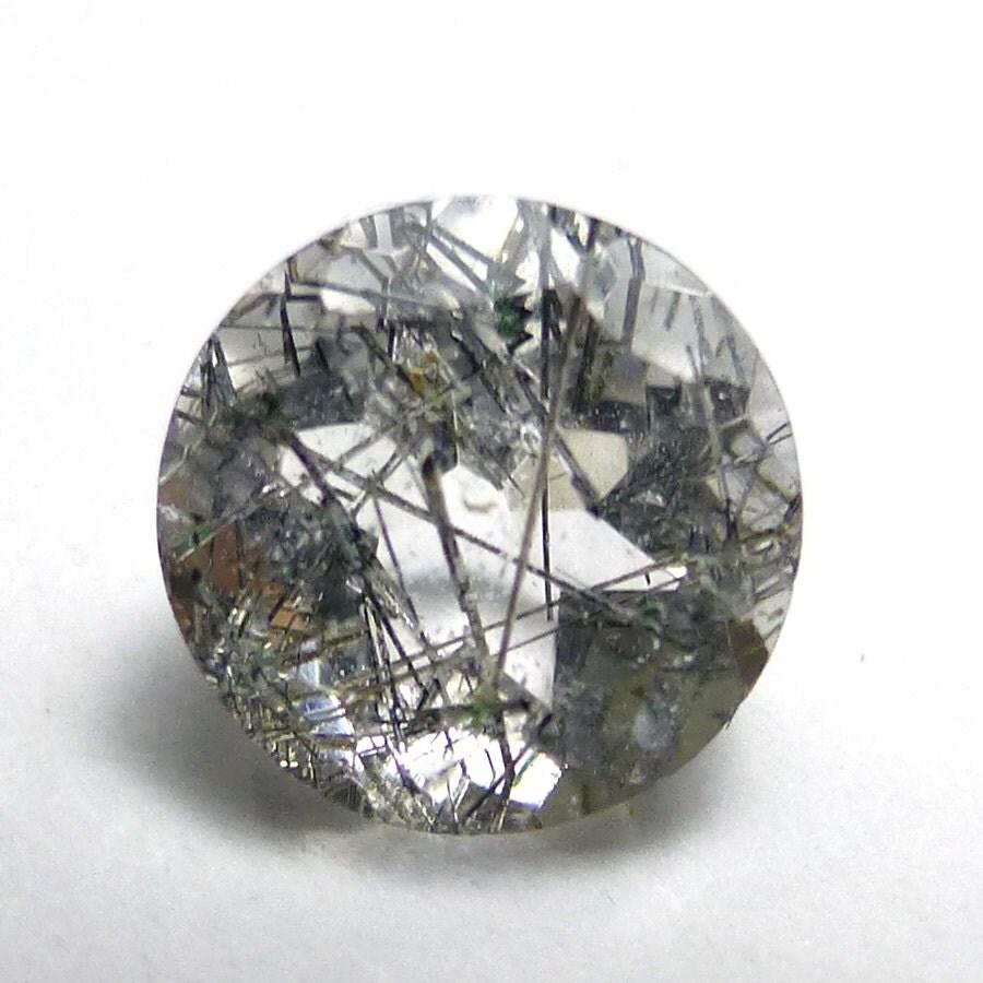 rutilated quartz 6mm gemstone brilliant calibrated
