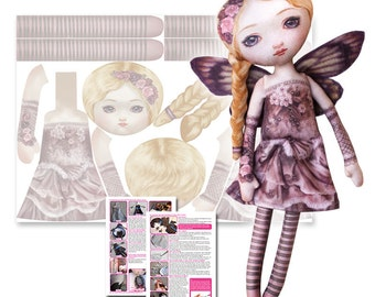 Cut and Sew Pattern - Blossom Pink Fairy - DIY Darling by Selina Fenech