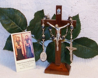 Unbreakable Catholic Chaplet of Saints Cosmas and Damian - Patrons of Midwives, Physicians, Pharmacists, Surgeons and Barbers