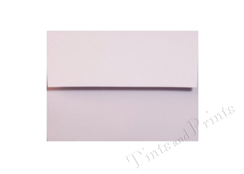 a7 envelopes light lavendar purple set of 25 for 5x7 cards