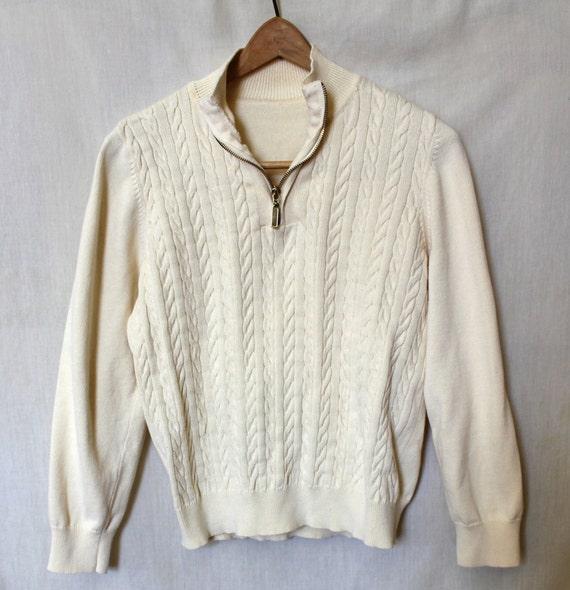 White Ski Sweater 36