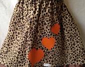Girls' Cheetah Print Skirt - Size 5-6T - Ready to Ship