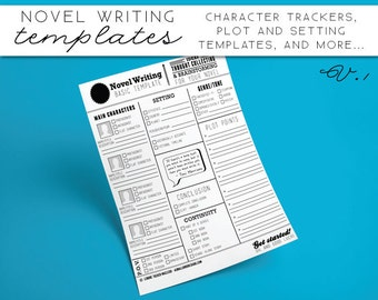 Novel Writing Templates V1