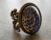 Game of Thrones Daenerys Targaryen Ring in Brass EXCLUSIVE DESIGN Only by Enchanted Lockets