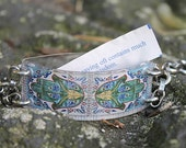 """Bracelet by FortuneKeeper- Hamsa """"Hands of Protection"""" snaps open to hold fortunes, words, photos, goals...inspires"""
