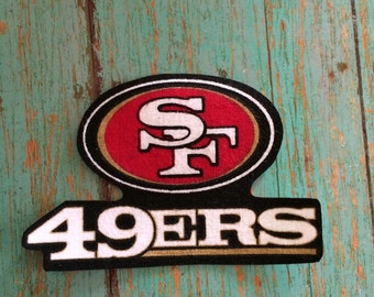 San Francisco 49ers iron on applique