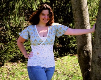 The Felicity Flutter Top PDF Sewing Pattern