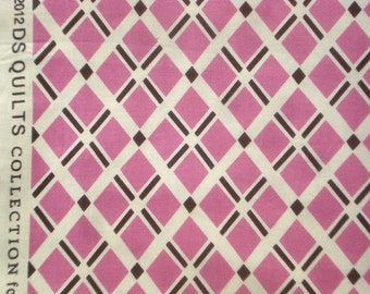 Fancy Free Diagonal Plaid purple DS Quilts Denyse Schmidt fabric shy FQ or more